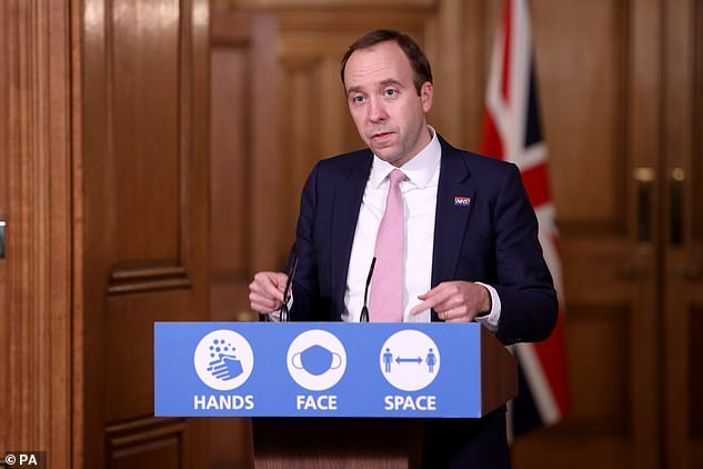 Health Secretary Matt Hancock yesterday told a Downing Street briefing it was still too early to say what contact people will be able to have over the festive period
