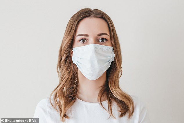 The piece reviewed the recently published 'Danmask-19' trial, which looked at the effectiveness of masks in preventing wearers becoming infected with Covid-19. A stock image is used above [File photo]