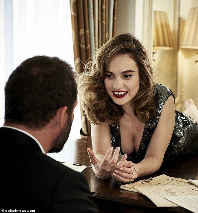 But seeing this picture from a magazine shoot four years ago of her gazing across a piano at him in all her undeniable gorgeousness, I have to say: even I'm starting to see the problem