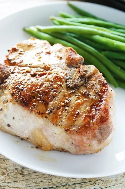Perfect Thick Cut Pork Chops