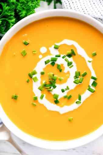 Simple Sweet Potato Soup