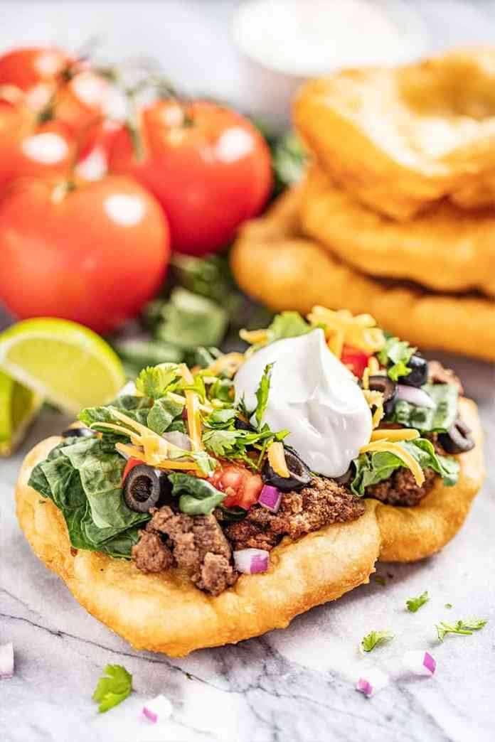 Authentic Indian Fry Bread