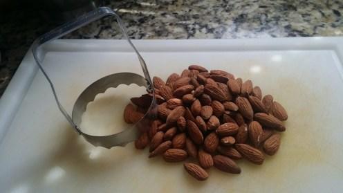 nut bars almonds