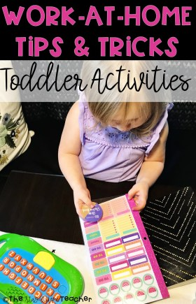 BLOG - WAHM Tips Toddler Activities