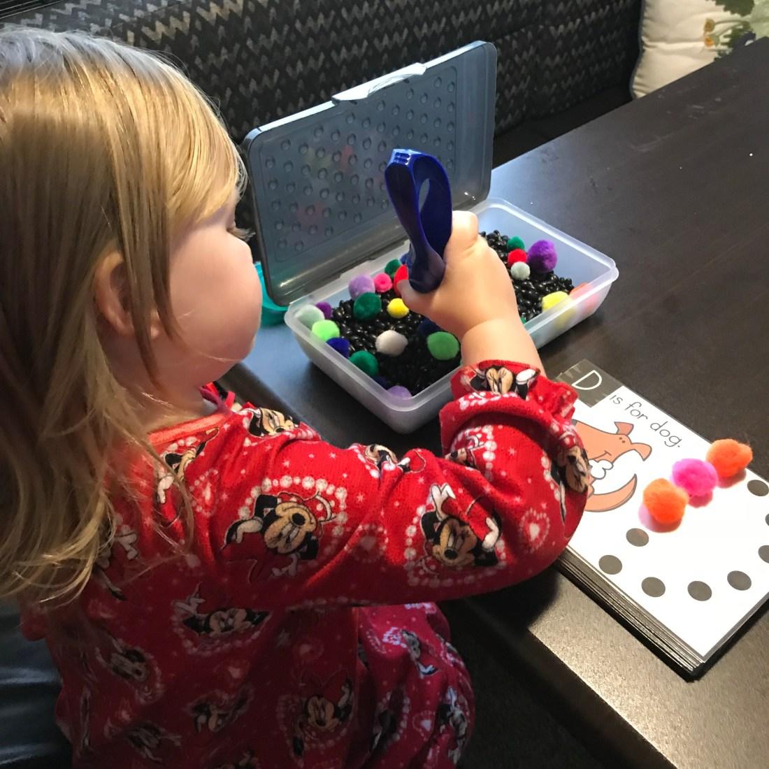 Preschool Skills Sensory Bins