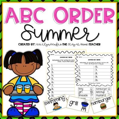 ABC Order - 6Summer