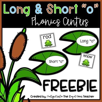 Long and Short O FREEBIE