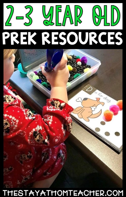 Homeschool Preschool Resrouces