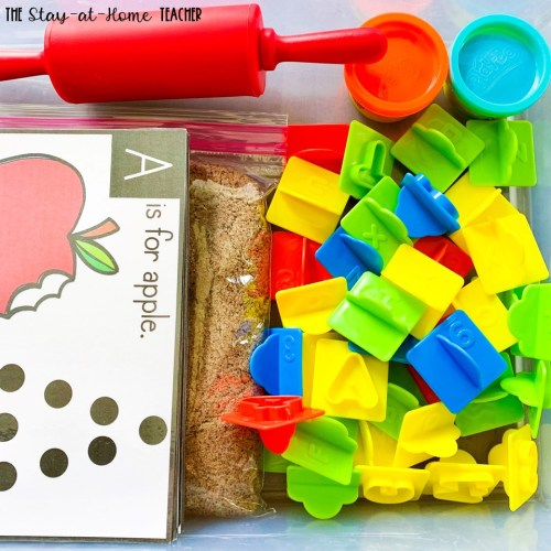 Alphabet Preschool Sensory Activities