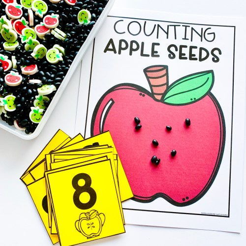 Apple Seeds Counting