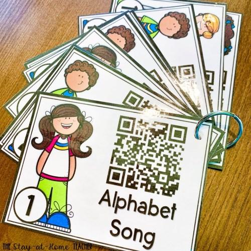 Alphabet Video Cards