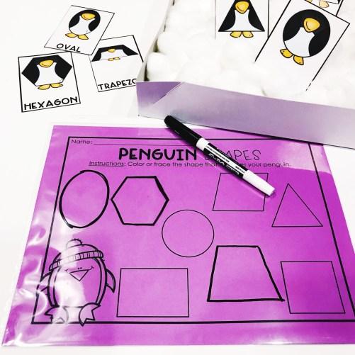 Penguin Shapes
