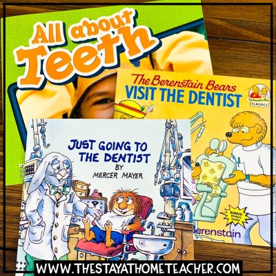 picture books about dental health
