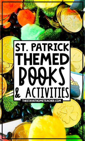 St Patrick's Day themed books and activities