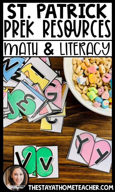 Lucky Charm Centers for Preschool
