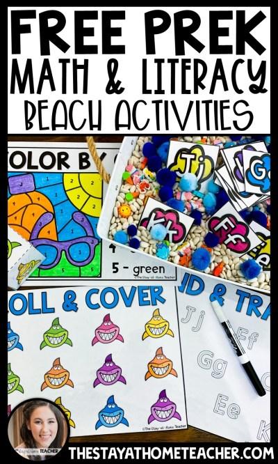 free beach printables