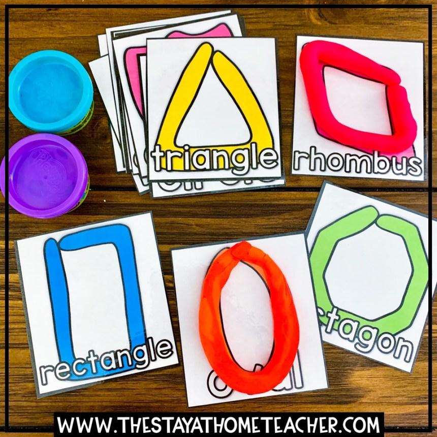 shape building cards