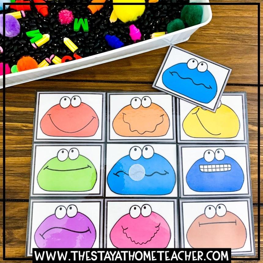color matching mat