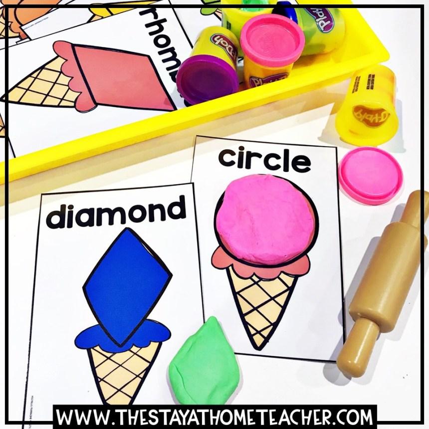 ice cream shapes