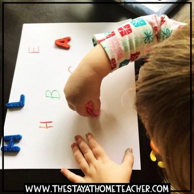 toddler homeschool
