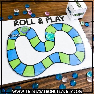 beach colors board game