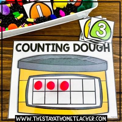 play dough 10 Frame