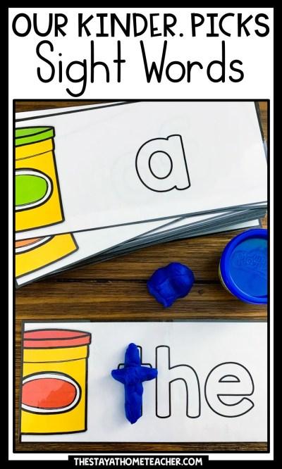 sight words bundle pin
