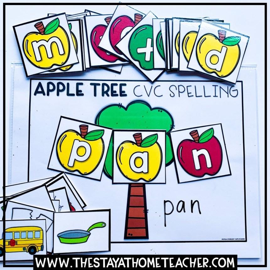 fall cvc spelling