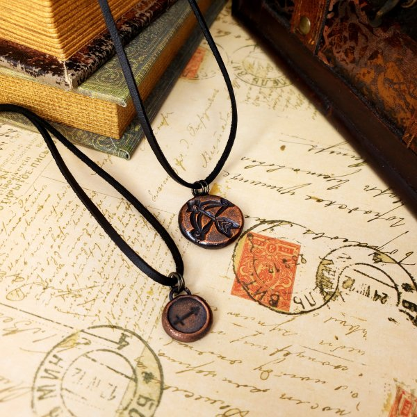 Zodiac and Horoscope Charm Necklace - Sagittarius