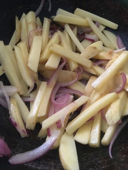 Add the Potato