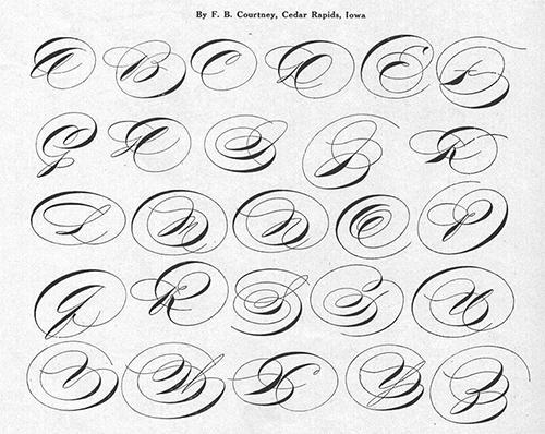 Portfolio of Ornate Penmanship-24