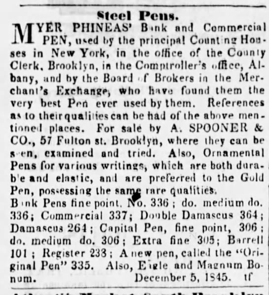1845 Myer Phineas