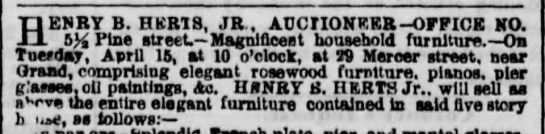 1856 Herts auction
