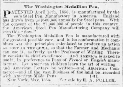 1857 Burlington VT