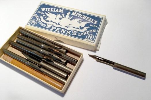 Wm Mitchell barrel_pens