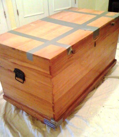 DIY Outdoor Cedar Storage Chest Plans Wooden PDF Wood