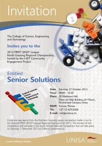 FIRST Lego league championship invite