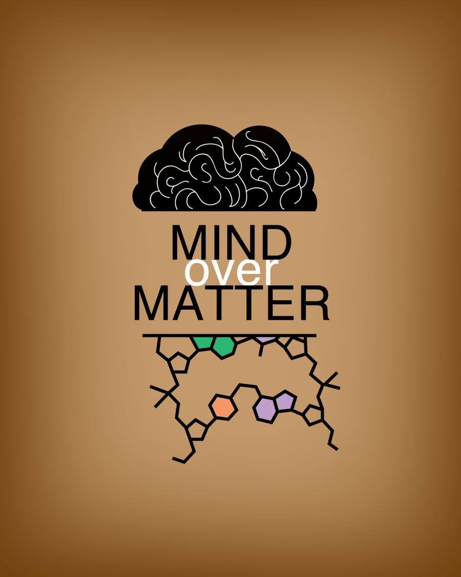 Mind over matter illustration
