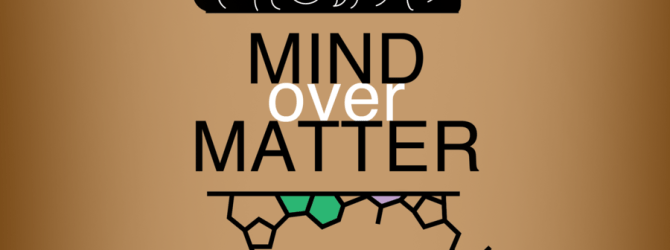 Mind over matter illustration