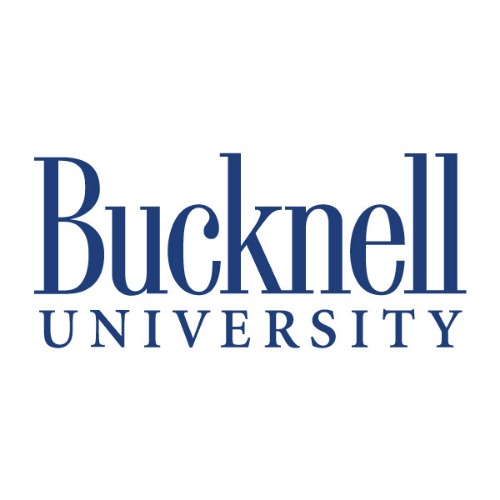 Bucknell University logo with link to article