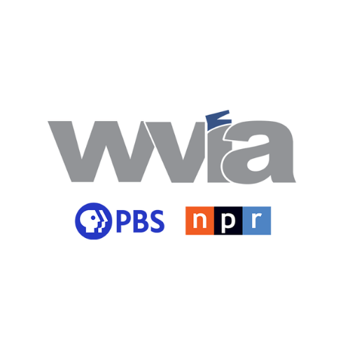 WVIA logo with link to radio interview recording