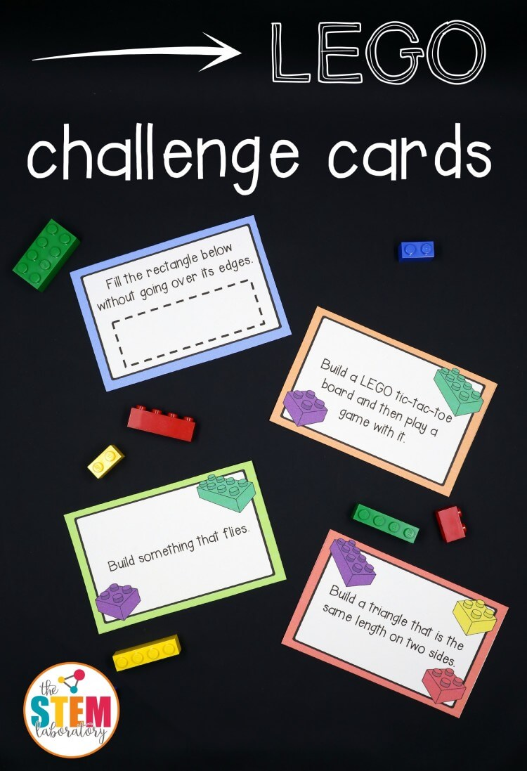 LEGO Challenge Cards The Stem Laboratory