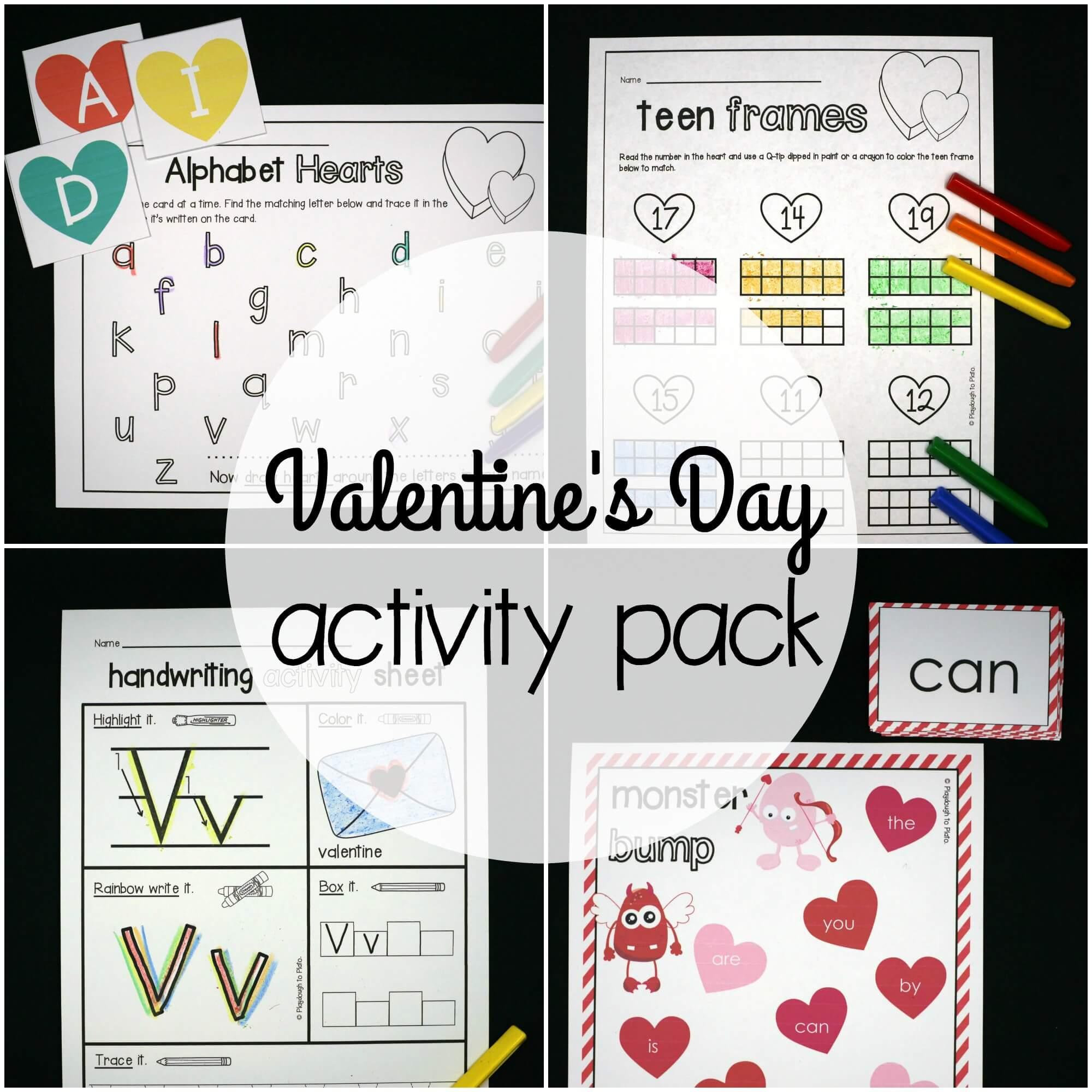 Valentine S Day Activity Pack