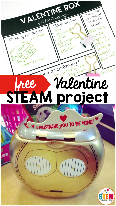 Valentine Box STEAM Challenge The Stem Laboratory