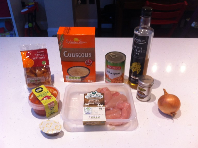 Chicken Couscous One Pot Ingredients