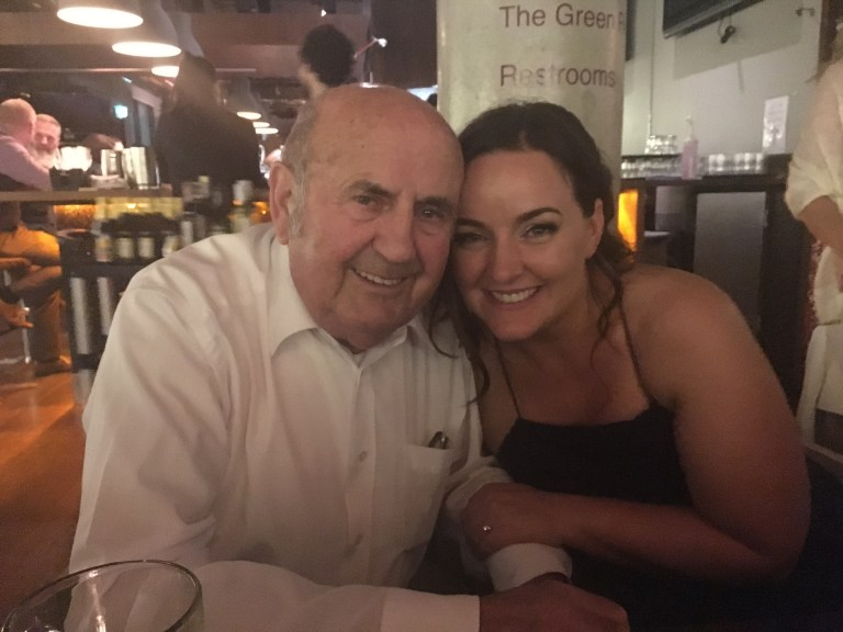 The Mrs & her Grandad
