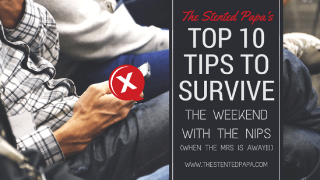 Top 10 tips to survive the weekend