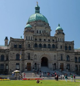 Parliament Building in Victoria BC