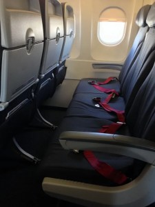 Air Canada Rouge Seats