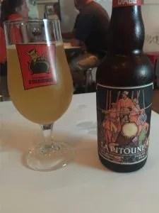 La Pitoune beer at Robin Square